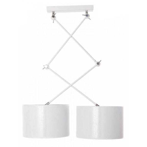 Podwójna lampa wisząca Emina - AV-Lighting - biała