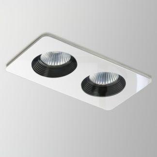 Podwójne oczko sufitowe Verto Twin LED - Astro Lighting - białe