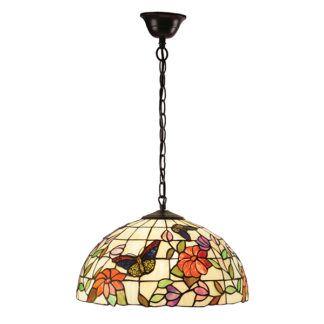 Lampa wisząca Butterfly - Interiors - kolorowe szkło
