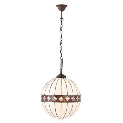 Lampa wisząca Fargo - Interiors - szklana kula