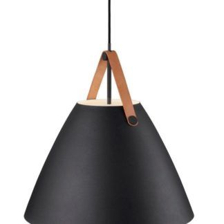 Stylowa lampa wisząca - Strap 48 - DFTP - Nordlux - czarna