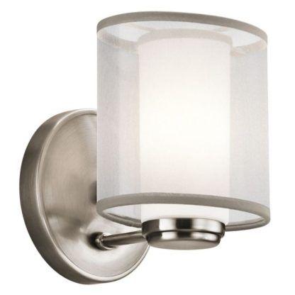 Stylowy kinkiet Astoria - Ardant Decor - srebrny
