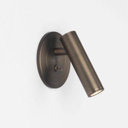 Stylowy kinkiet Enna LED - Astro Lighting - brązowy