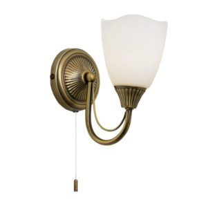 Stylowy kinkiet Haughton - Endon Lighting - złoty