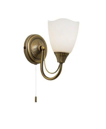 Stylowy kinkiet Haughton - Endon Lighting - złoty