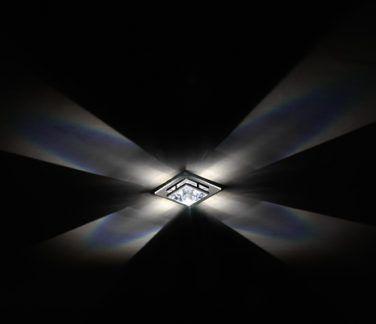 Kryształowe oczko sufitowe Madison 50mm - Swarovski