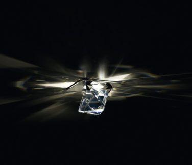 Kryształowe oczko sufitowe Octa ceiling - Swarovski
