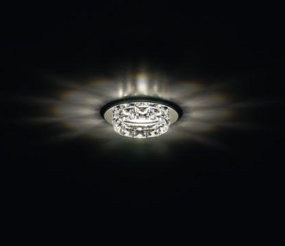 Kryształowe oczko sufitowe Ringlet - Swarovski