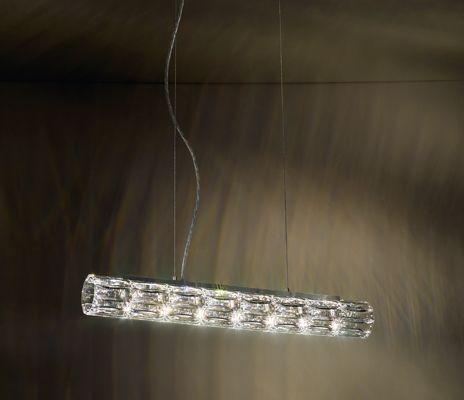 Kryształowa lampa wisząca Verve 456mm - Swarovski