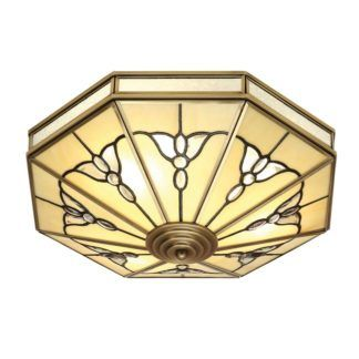 Szklany plafon Gladstone - Interiors - witrażowy