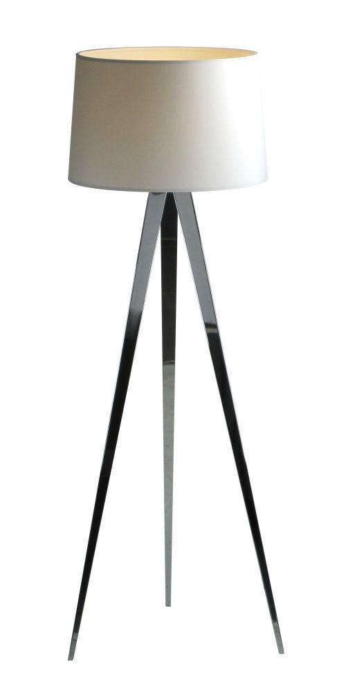 Lampa podłogowa - Tripod II - Zuma Line - biała