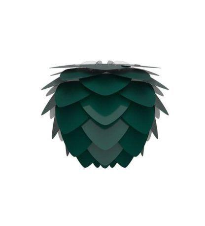 lampa wisząca w stylu skandynawskim, ciemna zieleń