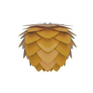 Lampa wisząca Aluvia Medium saffron - Umage - żółta
