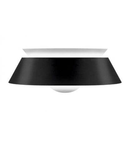 nowoczesna lampa wisząca, czarno-biała