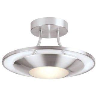 Oryginalna lampa sufitowa Firenz - Endon Lighting - srebrna